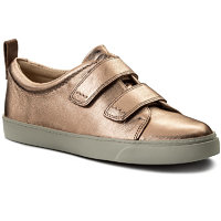 Sneakersy CLARKS - Glove Daisy 261309834 Rose Gold 3