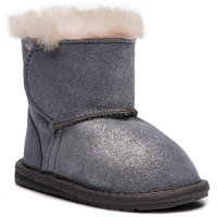 Boty EMU AUSTRALIA - Toddle Metallic B11905 Charcoal