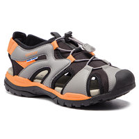 Sandály GEOX - J Borealis B. C J920RC 01554 C0038 D Black/Orange 3