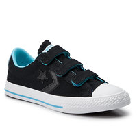 Plátěnky CONVERSE - Star Player Ox 664184C Black/Gnarly Blue/White 3