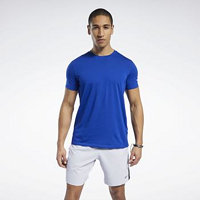 Reebok Sport Workout Ready Jersey Tech Tee Modrá EU EU