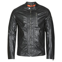 Guess QUILTED ECO LEATHER JACKET Černá EU