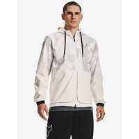 Project Rock Legacy Windbreaker Bunda Under Armour Béžová